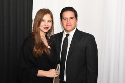 Mariana Beick y José Luis Carranza.