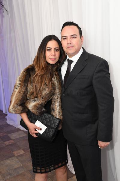 Alejandra González y Francisco Espinoza.