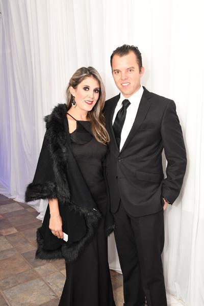 Liliana Sifuentes y Sergio Sánchez.