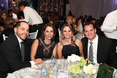 Eduardo López, Martha Garza, Alma Muñoz y Mauricio Holguín.