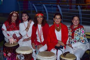 28112018 Leidy, Lupita, Lourdes, Elena y Gloria.