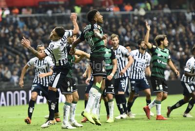 Santos cae ante Monterrey en arranque de Liguilla