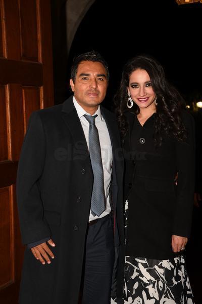 Jaime Correa y Carmen Soria.