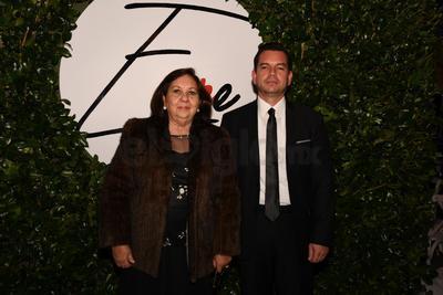Yolanda Díaz y Blas Urraza.