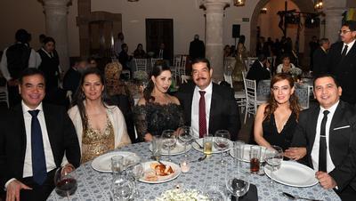 Bernardo Rueda, Blanca López, Pety Mejorado, Gustavo Gamero, Lili García y Arq. Óscar Díaz.