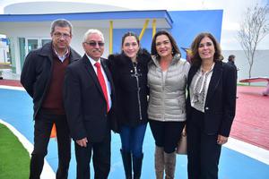 29112018 Fernando, Julián, Fer, Mónica y María Matilde.