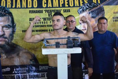 """Fernando """"Picapiedra"""" Silva de Ciudad Juárez, Chihuahua, 500 gramos más, pero dentro del límite pactado."""