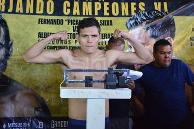 """Y es que el invicto Alberto """"Betote"""" Contreras, registró 66 kilos cerrados."""
