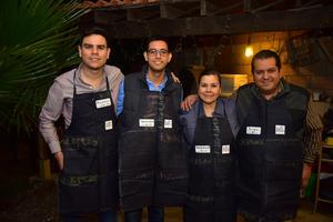 30112018 Ricardo, Gerardo, Alejandra y Jorge.