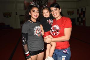 30112018 Ivanna Fernanda Ríos Téllez, Luciana Guerrero Téllez y Ale Téllez.