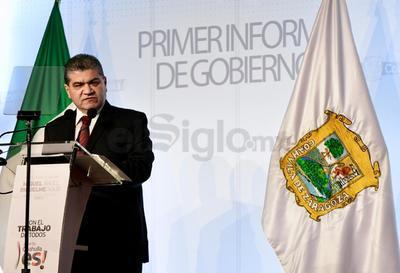 Sobre economía y finanzas, Riquelme destacó la creación de 48 mil nuevos empleos registrados ante el IMSS, con lo que confío en romper la meta propuesta para su administración.