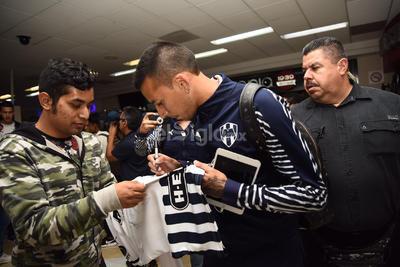 Rayados ya llegó a La Laguna para el duelo ante Santos