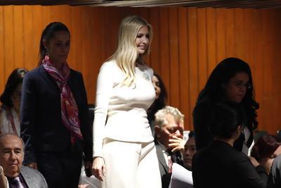 Ivanka Trump formó parte de la delegación estadounidense.