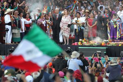 Andrés Manuel López Obrador, presidente de México, dirigió un nuevo mensaje a la nación, ahora ante miles de simpatizantes que se congregaron en el Zócalo capitalino.
