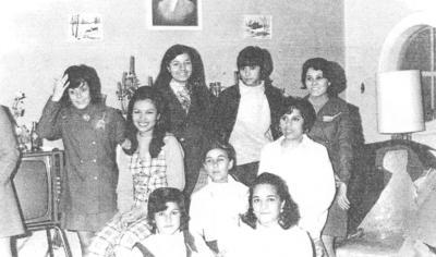 30122018 Cruz Roja comité damas, enfermera y socorristas en la peregrinación a la Virgen de Guadalupe en 1972.