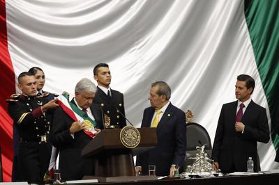 López Obrador emitió su primer mensaje a la nación como presidente de México.