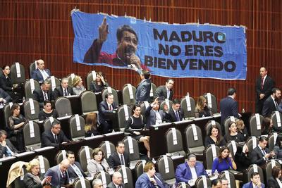 Legisladores se manifestaron por la visita del presidente de Venezuela, Nicolás Maduro.