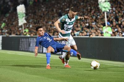 Santos Laguna no consiguió continuar con la defensa del título.