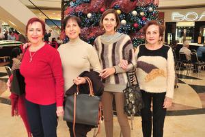 02122018 Carmelita, Hilda, Cecy y Lupita.