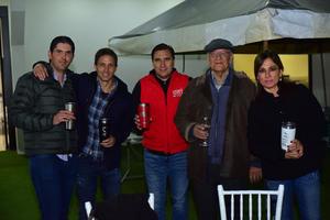 02122018 Juan Pablo, Luis, Jorge, Ricardo y Pilar.