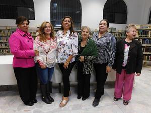 01122018 Adela Esparza Originales, MaryChelo Narro Ramírez, Blanca Domínguez R., Irma Leyva Ramos, Marylola Vázquez Álvarez y Antonia Priego Estrada.
