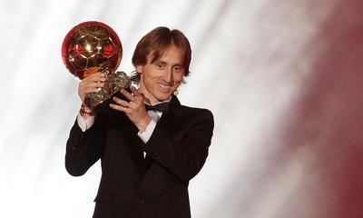Modric logró consagrarse tricampeón de Europa en 2018.
