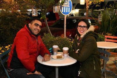 Manuel Soto y Sandra Huerta.