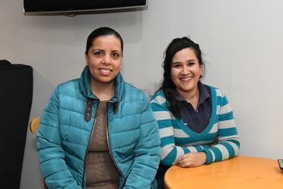 Mary Arreola Enríquez y Brenda Zapata.