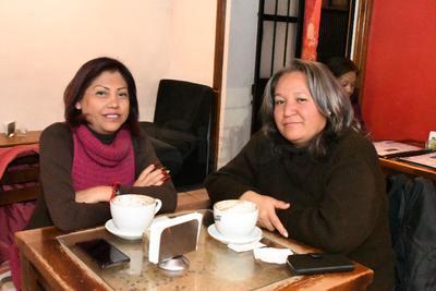 Mary Gallegos y Maricela Madera.
