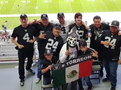 06122018 Raiders Comarca Lagunera en pasada visita a Phoenix, Arizona.