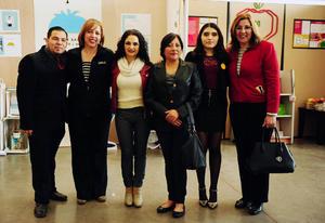 06122018 William Ortiz, Martha Silvia Argüelles, Gretel de la Peña, Senorina Ramírez, Gabriela Silva y Sandra Rodríguez.