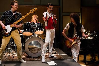 Bohemian Rhapsody está nominada a Mejor Película en los Golden Globes.