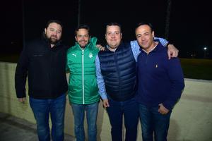 07122018 Aris, Manolo, Alejandro y Marco.