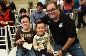 07122018 EVENTO CULTURAL.  Diego, Cristian y Gerardo.