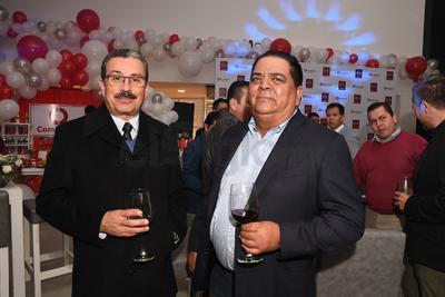 Mauricio Gorjón y Salvador Rodríguez.