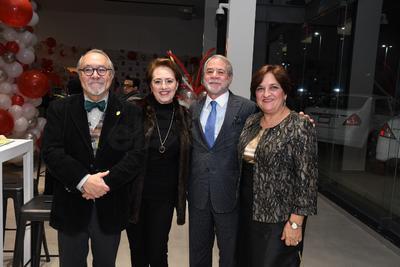 Esteban Rosas, Rosa María Mendivil, Guillermo Falomir Russek y Rebeca de la Peña.