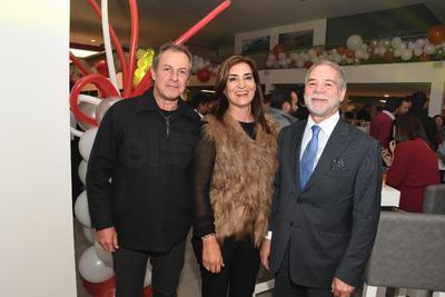 Alfredo Campos Stenner, Patricia Jiménez y Guillermo Falomir.