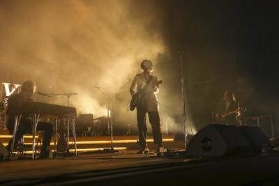 Con su regreso, Arctic Monkeys también buscan la estatuilla a la música.