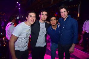 Angel, Felipe, Carlos y Jorge