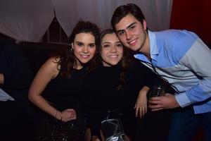 Judith, Mariana y Ricardo