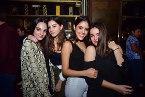 Natalia, Mariam, Maria Monica y Paulina