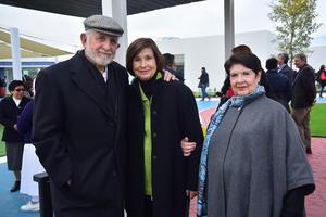 Alberto Gonzalez Domene, Rosario Lamberta de Gonzalez y Catalina Femat de Nava