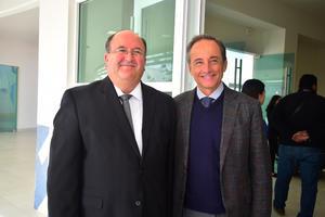 Luis Arturo Davila y Eduardo Tricio
