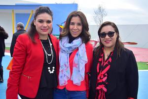 Paola, Valeria y Marcela