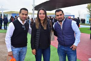 Rogelio Astudillo, Oly Frayre y, Alexandro Astudillo