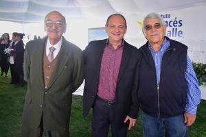 Sergio Perez, Armando Perez y Javier Aguirre