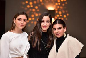 Regina, Daniela y Maryfer
