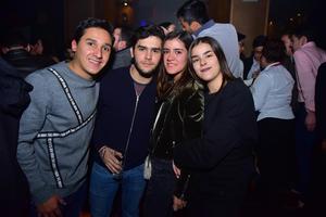 Federico, Víctor, Daniela y Paulina