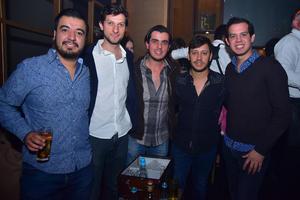 Rene, Hiram, Polo, Chapa y Karim