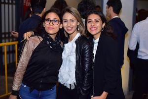Karina, Laurette y Sofia
